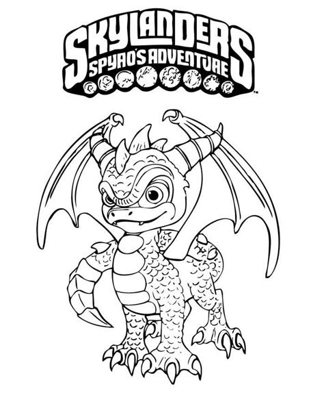 skylander birthday coloring page skylanders spyros adventure coloring pages 3 corling