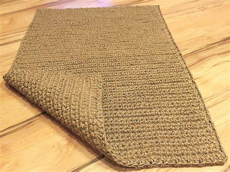 How Big Is 2 X 3 Rug by 2 X 3 Large Doormat Crochet Jute Door Rug By Magicbycrochet