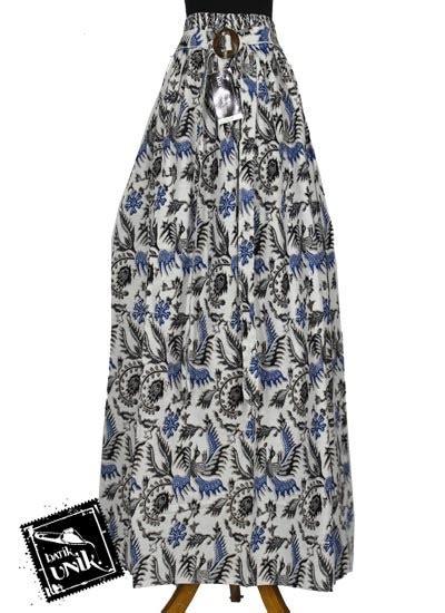 Rok Batok 39 baju batik rok panjang katun motif pelikan mlayu bawahan rok murah batikunik