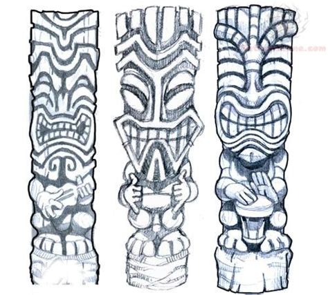 polynesian tiki tattoo designs tiki images designs