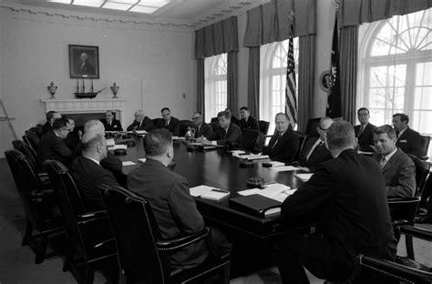 john f kennedy cabinet kn 24646 president john f kennedy holds cabinet meeting