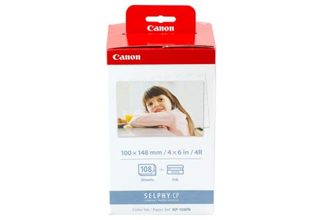 Paper Canon Kp 108ip canon kp 108in color ink paper set canon store