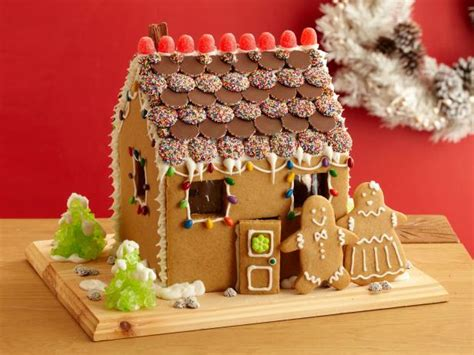 how to design a gingerbread house gingerbread house and people recipes cooking channel recipe cooking channel