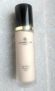 Giordani Gold Age Defying Foundation Spf 8 Oriflame makeup foundation and gold on