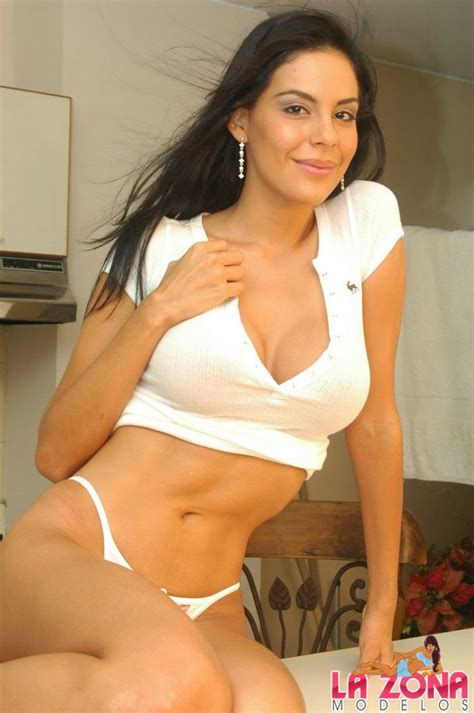Latina Hot Marcela In Cute White Mini Xxx Dessert Picture