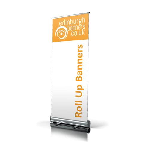 Roll Up roll up banner stand edinburgh banners