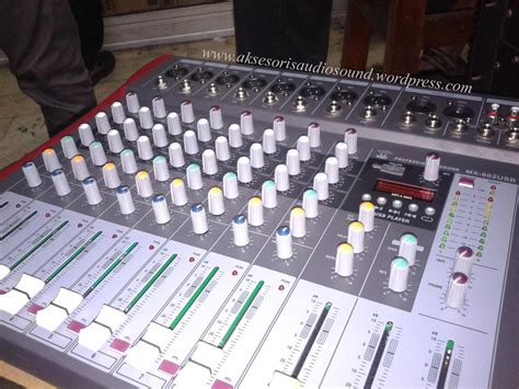 Mixer 24 Chanel Murah mx 802usb aksesoris audio sound system rakitan murah