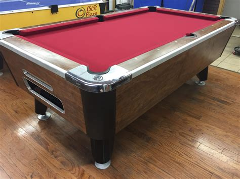 table 040317 valley used coin operated pool table used