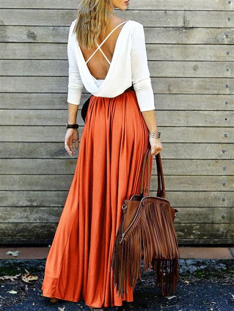maxi pelangi x orange 25 best ideas about orange maxi dresses on