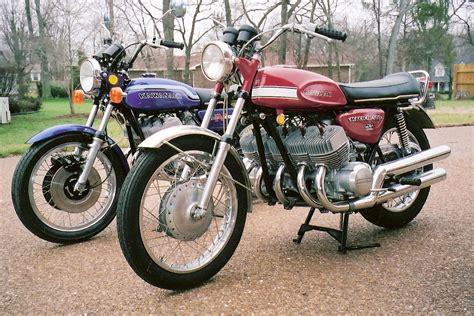 Kawasaki 2 Zylinder Motorrad by 1972 Kawasaki H2 1000cc Four Cylinder Concept Spy Shots