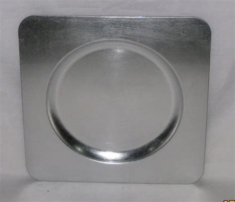 Silver Charger Plates for Sale/Offer Plastic Wedding Plate