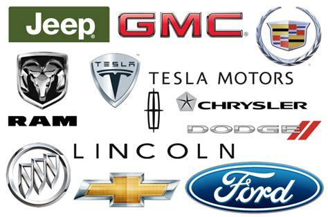 american car brands companies  manufacturers car brand namescom