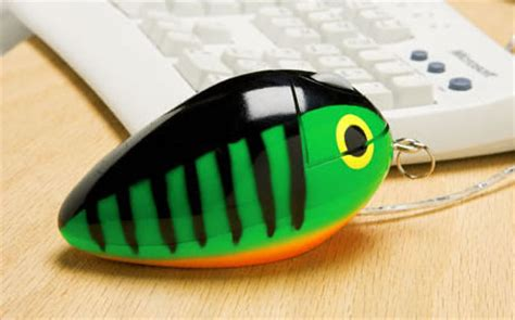 fishing lure computer mouse
