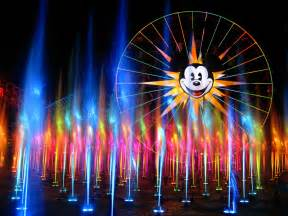 world of color the wonderful world of color frontierland station