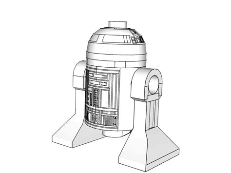 lego r2d2 coloring pages pov ray newsgroups povray binaries images lego star
