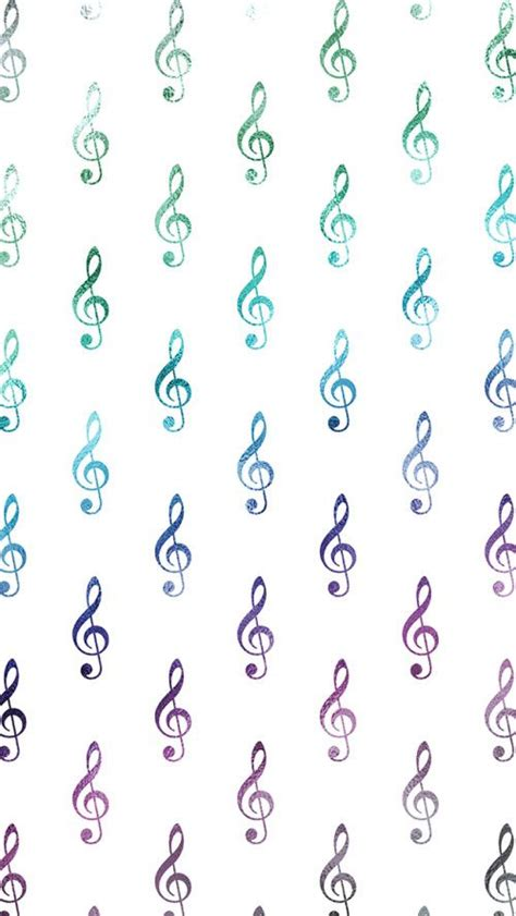 cute music pattern rainbow wallpaper musicals and iphone wallpapers on pinterest
