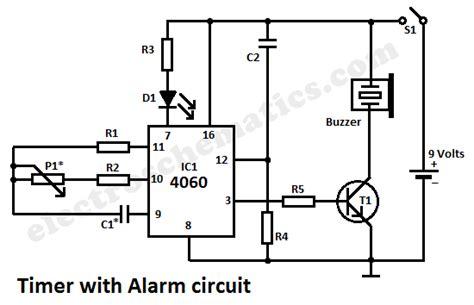 timer  alarm circuit
