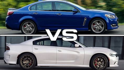 dodge charger ss 2016 chevrolet ss vs 2016 dodge charger srt hellcat