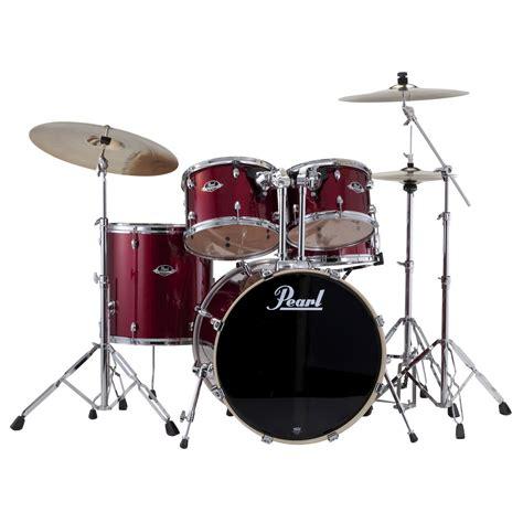 Drum Set pearl exx export 5 drum set with hardware 22 quot bass 14 quot snare 12 13 16 quot toms exx725