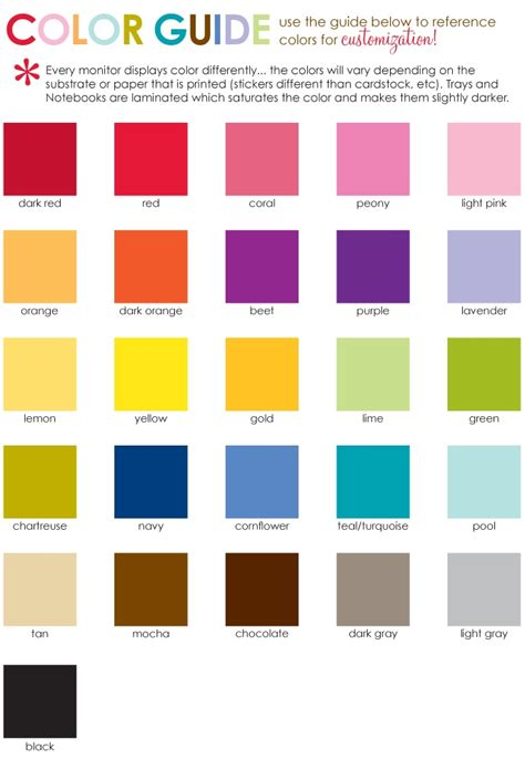 monthly colors monthly color code images search