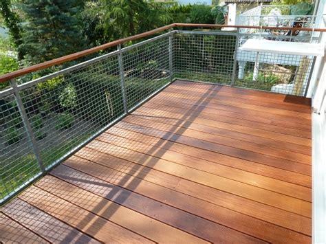 Balkonbelag Holzoptik by Balkon Mit Belag Aus Bangkirai Sinzheim Bei Baden Baden