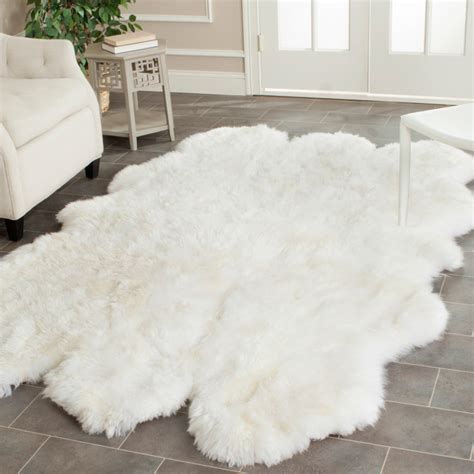 Sheepskin Rug by 10 Cozy Colorful Soft Sheepskin Rugs Interior Design Ideas