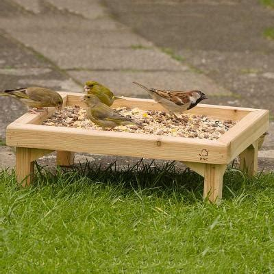 ground feeding bird table tray