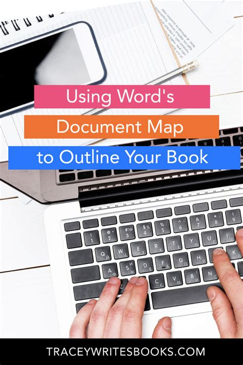 words document map  outline  book tracey