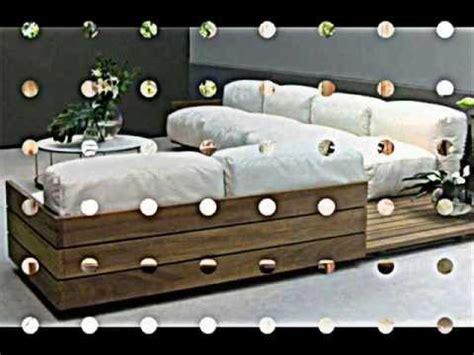 euro paletten m 246 bel sofa mit integrierten regalen youtube