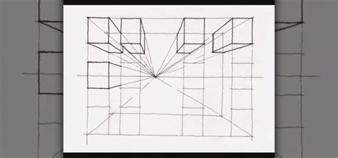 0 Point Perspective Drawing by How To Create A One Point Perspective Drawing 171 Drawing