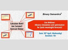 Live Webinar on Oracle Crystal Ball Software | Binary ... Predictive Analytics Crystal Ball