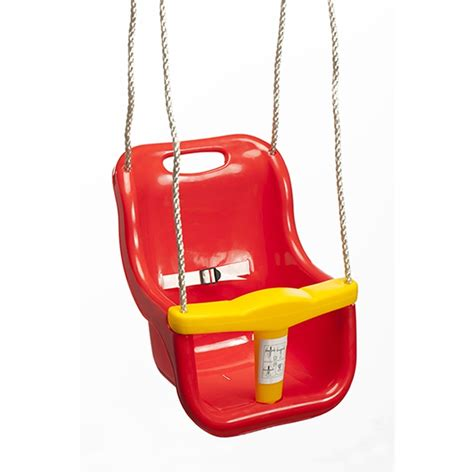 bunnings swings swing slide climb red plastic baby swing seat bunnings