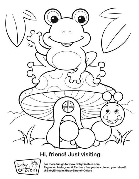 baby einstein coloring pages printable az coloring pages