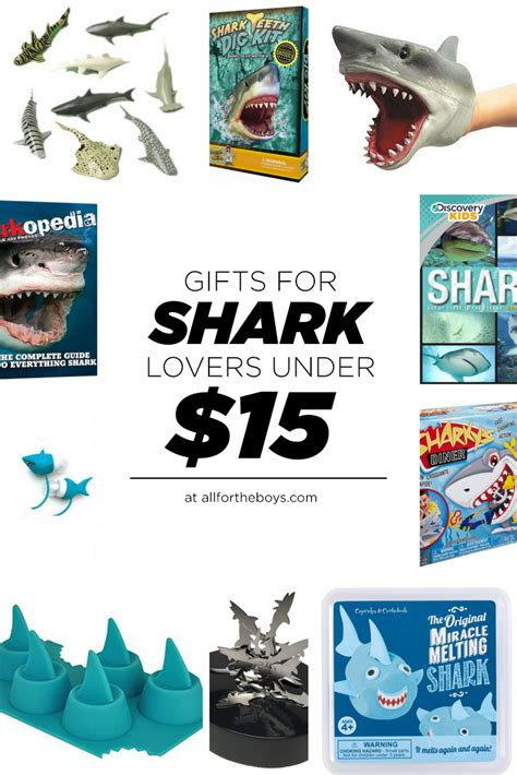 gifts for shark lovers under 15 all for the boys