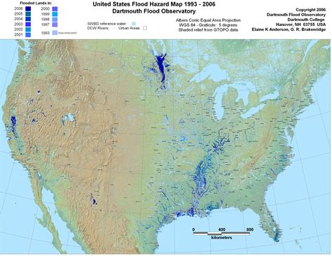 flood map usa global index map