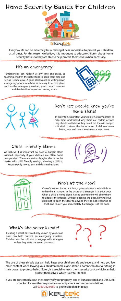 home security basics for children keytek locksmiths