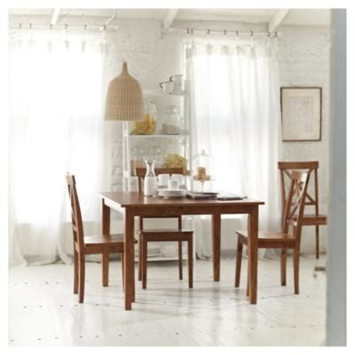 comedor cuadrado   sillas de madera sodimaccom