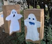 Paper Bag Ghost Craft - crafts for children
