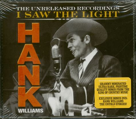 hank williams quot revealed quot unreleased recordings 3 hank williams cd i saw the light the unreleased 3 cd 1 dvd family records