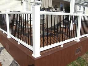 Pergola Railing Design by Pergola Trex Deck Custom Railings