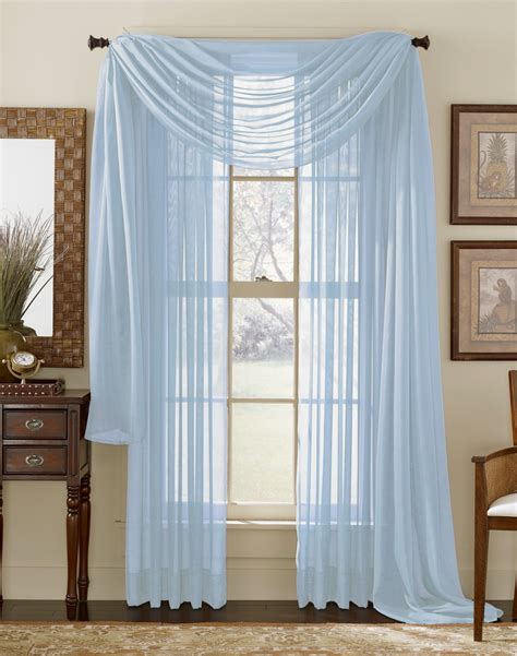 Light Blue Sheer Curtains Green Scarf Hairstyle 2013