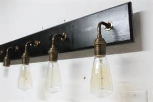 Antique Bathroom Vanity Lights Bathroom Vanity L Antique Brass Lighting By Partyandhomedesign