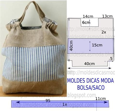 Moldes Bolsas Tecido Gratis | 69 best moldes de bolsas gratis images on pinterest