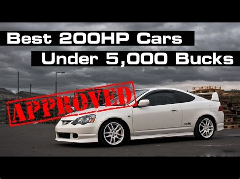 Cheap 200 Hp Cars by 10 Cheap Ways To Get A 200hp Car
