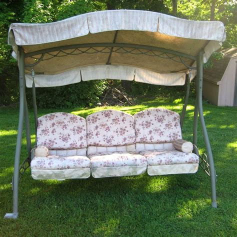 replacement canopy and cushions for patio swings 8 best outdoor swing cover images on pinterest outdoor