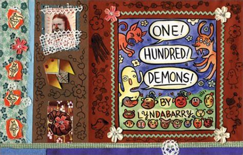 one hundred demons a review of lynda barry s one hundred demons and the