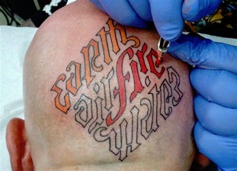 ambigram tattoos youll
