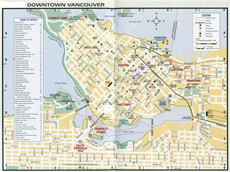 printable map vancouver bc large vancouver maps for free download and print high