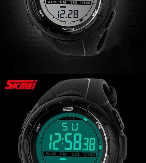 Skmei 1025 Digital Led skmei 1025 s led digital sports wrist black l