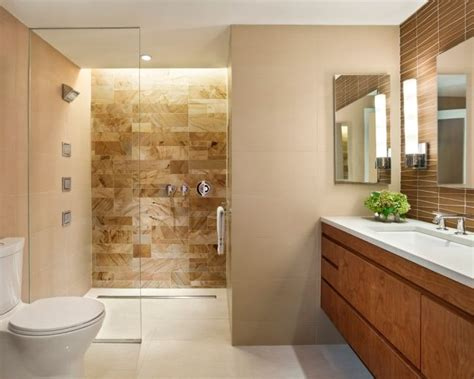 Badezimmer Fliesen Beige Braun by 40 Beige And Brown Bathroom Tiles Ideas And Pictures